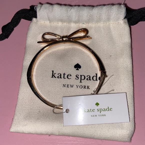Kate Spade Rose Gold Bow Bracelet